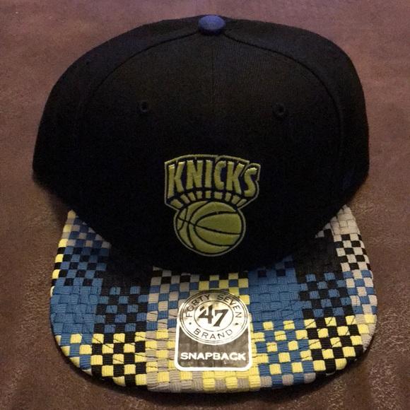 81c420479dce7 47 Brand New York Knicks Snapback Hat